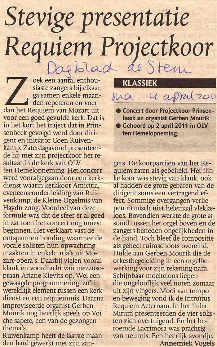 RecensiePrinsenbeek