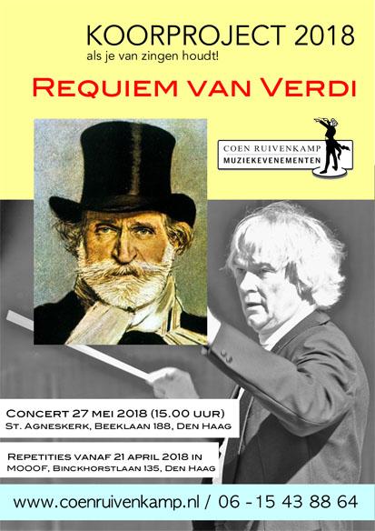 Koorproject 2018 - Requiem van Verdi